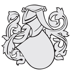 Aristocratic emblem no8 vector