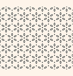 geometric floral pattern ornamental seamless vector image