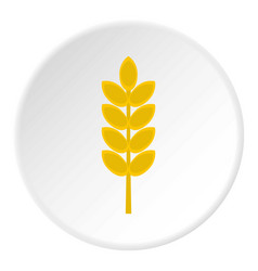Inlet spike icon circle vector