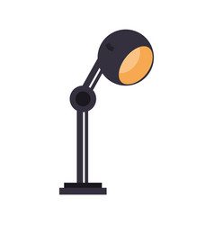 lamp office flat vector image vector image