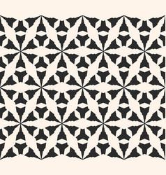 seamless pattern geometric triangular grid vector image vector image