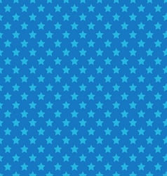 Blue seamless pattern with stars vector