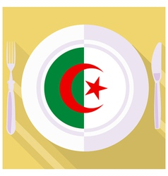 kitchen of Algeria vector image