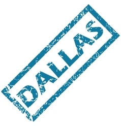 Dallas rubber stamp vector