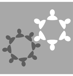 Collaboration icon from commerce set vector