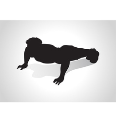 Push up vector