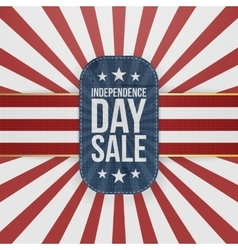 Independence day sale special emblem vector