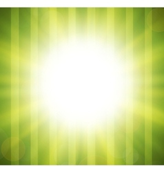 Abstract green blurry background with overlying vector