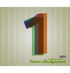 Color transparency symbol 1 vector