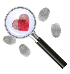 Looking for love - concept vector image
