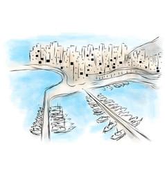 Monaco vector