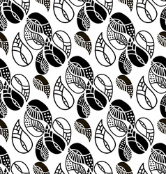 Paisley pattern36 vector