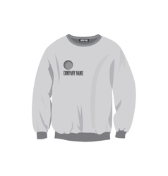 Sweatshirt design template vector