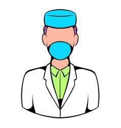 doctor icon icon cartoon vector image