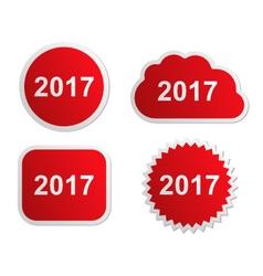 2017 buttons vector