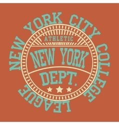 New york sport vector