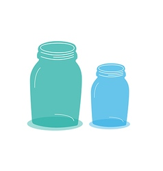 Objects jars vector