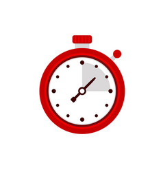 Stopwatch icon sport timer on competitions vector