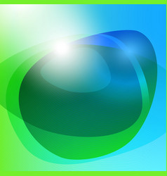 Bright abstract background vector