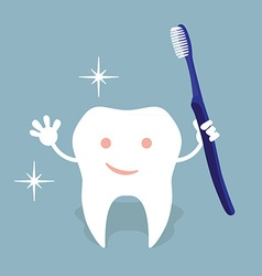 Tooth hygiene vector