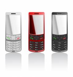 Cellphones vector