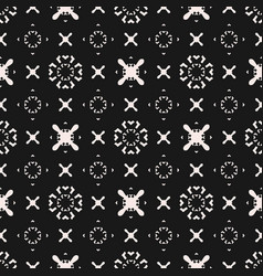 funky seamless pattern ornament with crosses x vector image