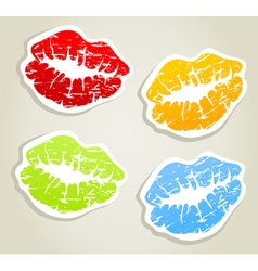 Lips5 vector image vector image