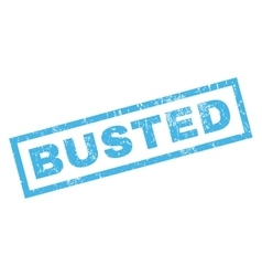 Busted rubber stamp vector