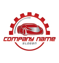 car business logo vector image