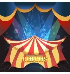 Circus theme vector