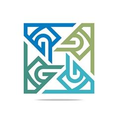 Logo letter g good design vector