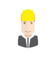 object architect avatar vector image