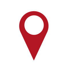 pin map location navigation gps concept vector image vector image