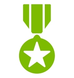 Army award icon from competition  success bicolor vector