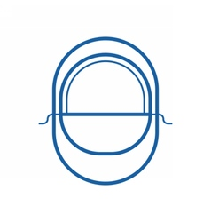 Balaclava line icon vector