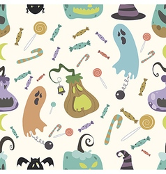 Halloween pumpkin pattern 01 vector