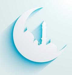Ramadan eid design vector