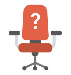 Vacant seat vector
