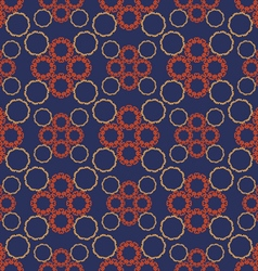 Pattern eastern circles vector
