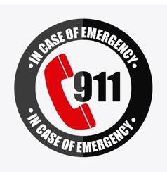 Emergency icon vector