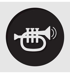 Information icon - trumpet vector