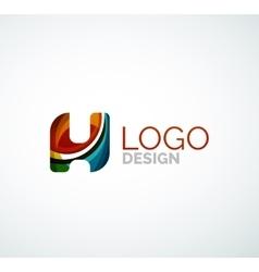 letter logo vector image