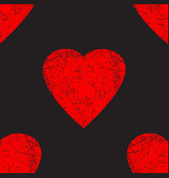 Seamless pattern element valentines vector