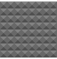 Acoustic foam wall soundproofing Seamless vector image