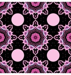Mandala seamless background pattern vector