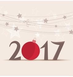 New year 2017 vector