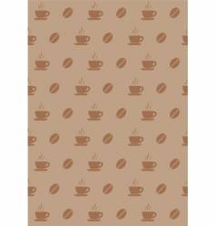 Coffee wallpaper vector