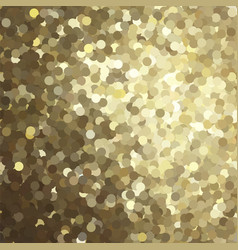 golden glitter background vector image vector image