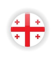 Georgia icon circle vector