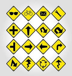 Signage signs vector